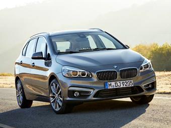 Представлена первая модель BMW с передним приводом