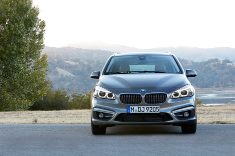 Компактвэн BMW 2-Series Active Tourer дебютирует в Женеве. Фото 1