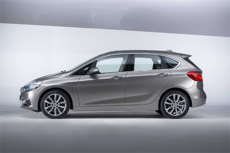Компактвэн BMW 2-Series Active Tourer дебютирует в Женеве. Фото 3