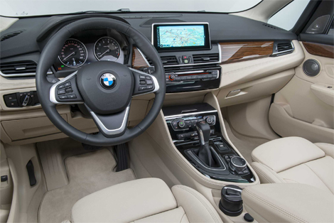 Компактвэн BMW 2-Series Active Tourer дебютирует в Женеве. Фото 6