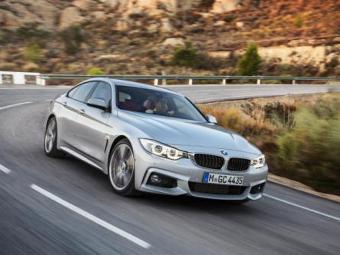 Пятидверка BMW 4-Series оказалась на 90 тысяч рублей дороже купе