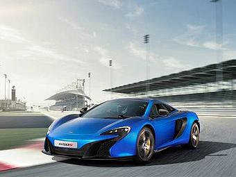 В Сети появились фотографии нового суперкара McLaren