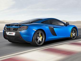 Новый суперкар McLaren наберет «сотню» за три секунды