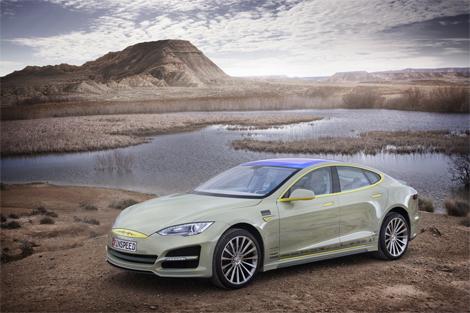 Электрический седан под названием XchangE дебютирует в Женеве