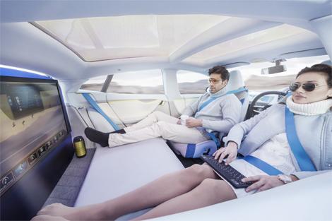 Электрический седан под названием XchangE дебютирует в Женеве. Фото 3