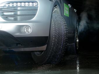 Фирма Nokian придумала шины с выдвижными шипами
