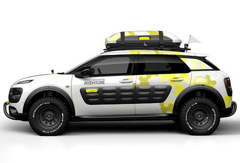 В Женеве дебютирует концептуальная версия кроссовера C4 Cactus. Фото 1