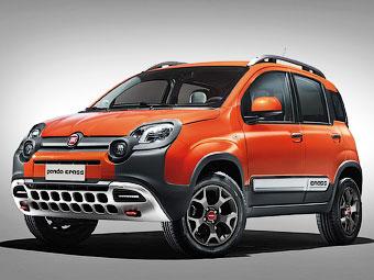 Fiat сделал «Панду» похожей на кроссовер