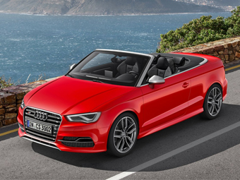 Audi S3 лишили крыши