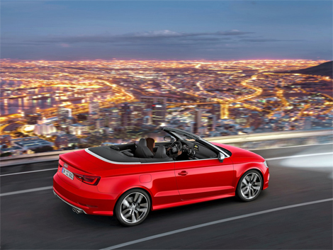 Открытая версия Audi S3 получила 300-сильный турбомотор