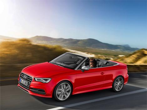 Открытая версия Audi S3 получила 300-сильный турбомотор. Фото 1