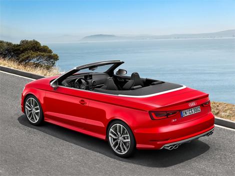 Открытая версия Audi S3 получила 300-сильный турбомотор. Фото 2