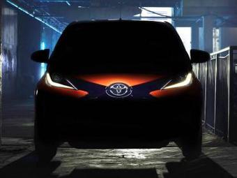 Toyota опубликовала изображение нового Aygo