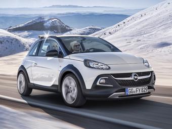 Opel представил вседорожный Adam