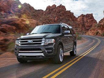 Ford Expedition сменил мотор V8 на «турбошестерку»