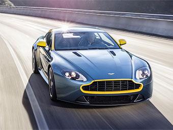 Aston Martin подготовил спецверсии DB9 и V8 Vantage