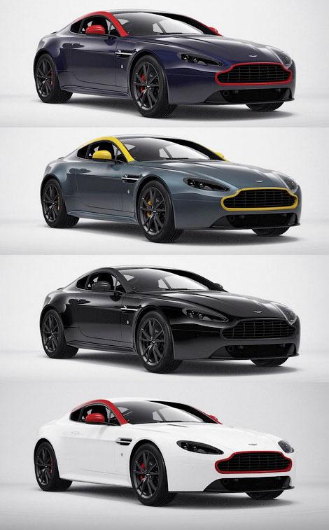 В Женеве дебютируют особые модифкации двух суперкаров Aston Martin