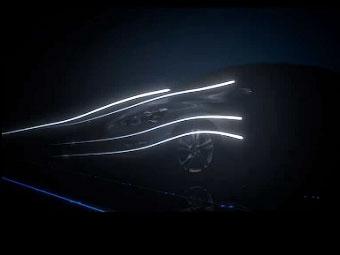 Nissan показал тизер новой модели для России
