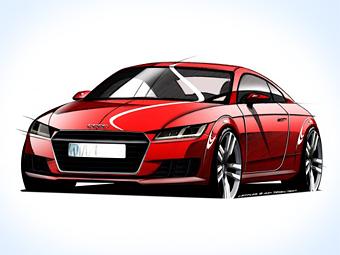 Компания Audi показала дизайн TT следующего поколения
