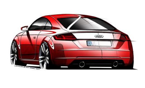 Новое купе Audi TT покажут на Женевском автосалоне