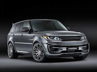 Немцы создали тюнинг-пакет для Range Rover Sport