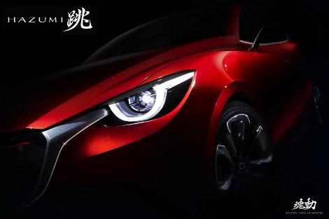 На мартовском моторшоу дебютирует субкомпактный хэтчбек Mazda Hazumi