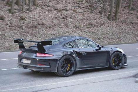 Компания Porsche начала дорожные испытания модели 911 GT3 RS. Фото 2