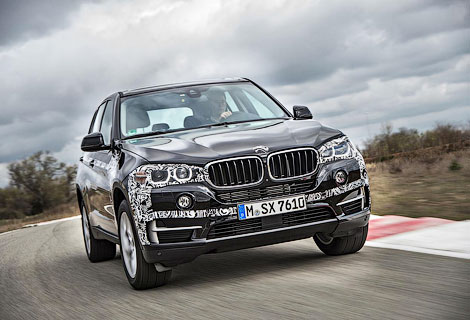 Появились фотографии предсерийного гибрида BMW X5. Фото 2