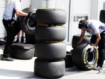 Внедрение новых шин Формулы-1 отложили до Гран-при Бельгии