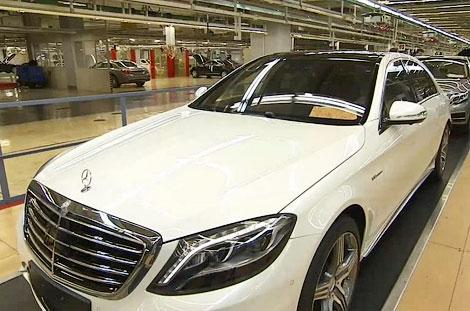 Модель появилась в видеоролике о начале производства седана