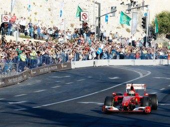 Болиды Формулы-1 проехали по улицам Иерусалима