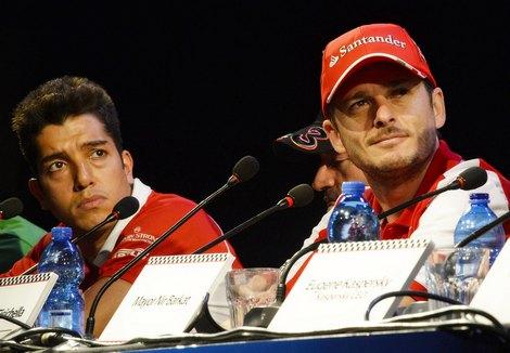 В демонстрационных заездах приняли участие команды Ferrari и Marussia. Фото 2