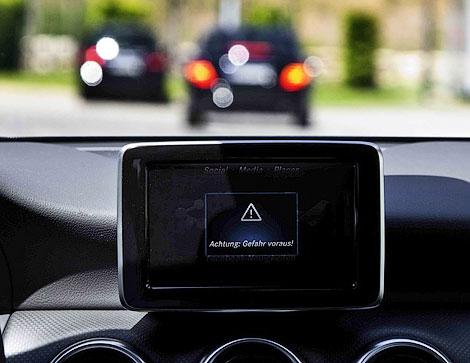 Новая система будет предупреждать водителя об опасностях на дороге