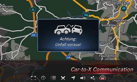 Новая система будет предупреждать водителя об опасностях на дороге. Фото 1