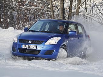 В России появится полноприводный Suzuki Swift