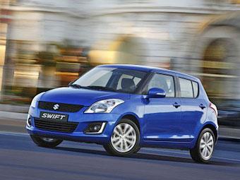 В Сети появились фотографии обновленного Suzuki Swift