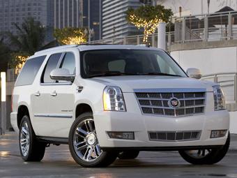 Новый Cadillac Escalade появится через год