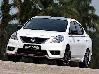 Ателье Nismo подготовило спорт-пакет для Nissan Tiida
