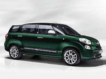 Компактвэн Fiat 500L стал семиместным