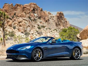 Aston Martin лишил Vanquish крыши