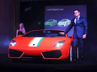 Индийцы получили эксклюзивный вариант Lamborghini Gallardo