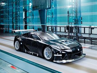 В Сети показали секретный Lexus LFA для гонок