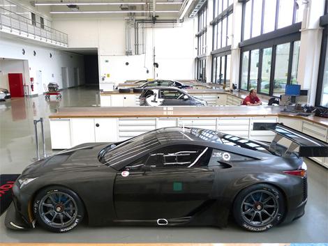 Суперкар подготовлен для выступления в гонках на выносливость