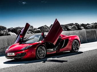 McLaren сделает суперкар MP4-12C мощнее