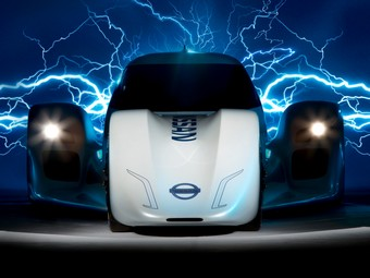 Nissan показал гибридный спортпрототип для Ле-Мана