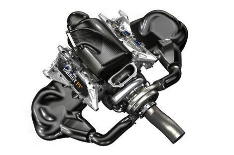 Французский производитель первым показал изображения гоночного двигателя для сезона-2014