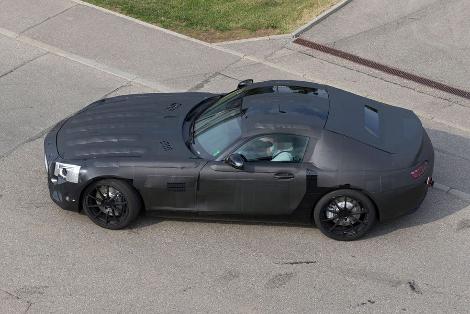 Компактный Mercedes-Benz GT появится в 2014 году. Фото 1