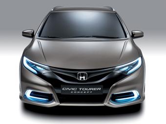 """Honda подготовит """"заряженную"""" версию универсала Civic"""