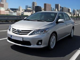 Toyota Corolla вошла в пятерку самых популярных подержанных машин России