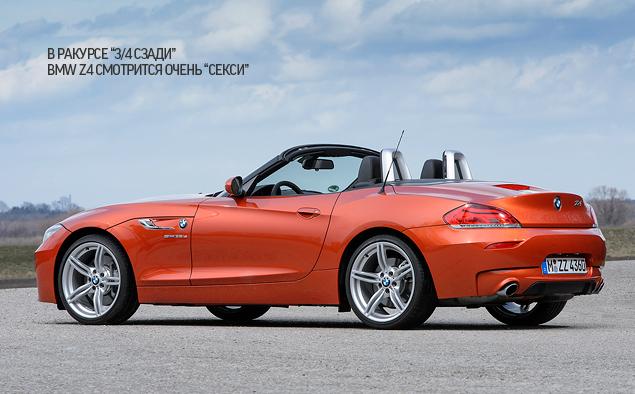 Мини-тест: 340-сильный родстер BMW Z4 sDrive35is. Фото 6